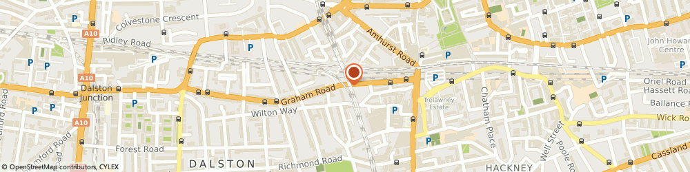 Route/map/directions to Container Clamps Ltd, E8 1BS London, 170 Graham Road