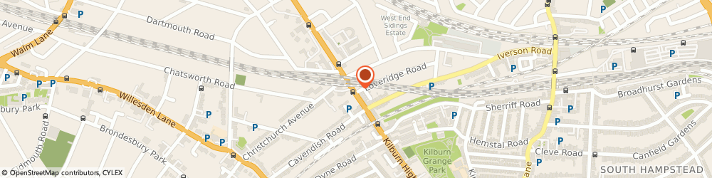 Route/map/directions to Folkies Music, NW6 2QH London, 358 Kilburn High Rd