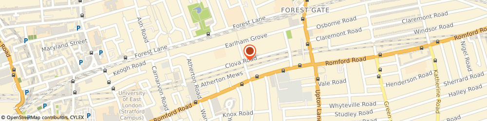 Route/map/directions to Plant and Plant Ltd., E7 9AG London, 101 Clova Road