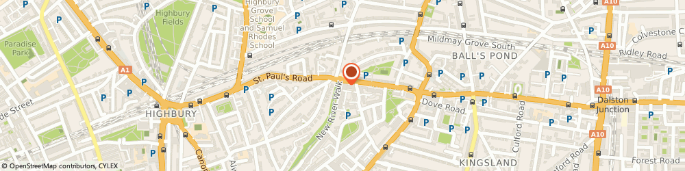 Route/map/directions to UPS Solutions Logistics, N1 2SY Islington, Unit 2, Marquees Estate