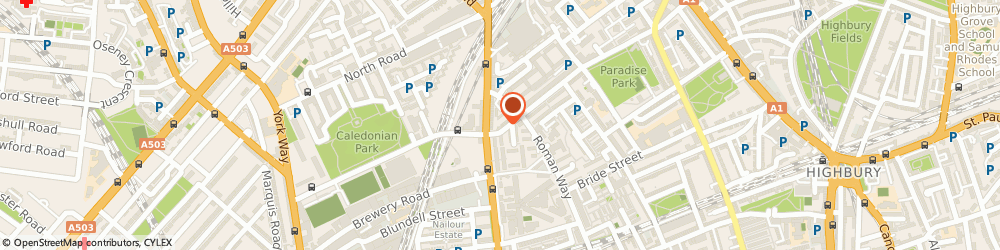 Route/map/directions to Mig Pattern Cutting Services Ltd, N7 8QZ London, 3 Mackenzie Road