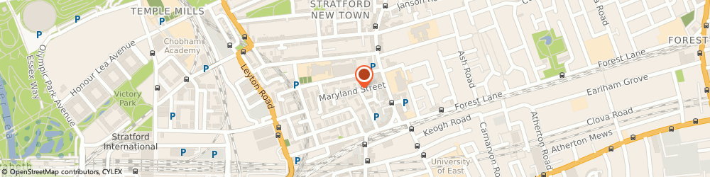 Route/map/directions to Anytime Locksmiths - London, E15 1JD London, 21 Maryland Street