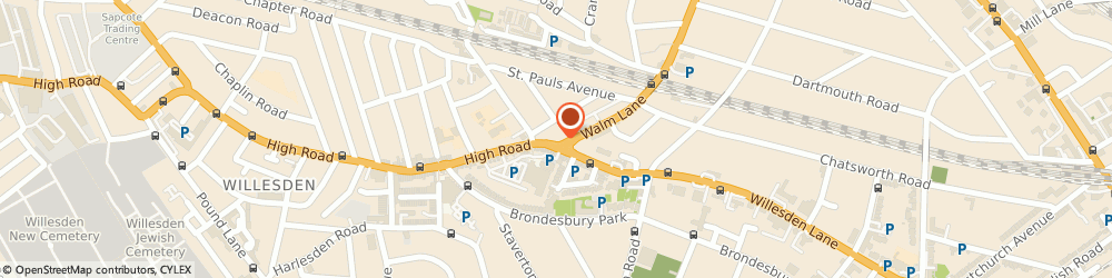 Route/map/directions to Hijab Centre London Ltd, NW10 2QG London, 4 High Rd