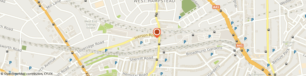 Route/map/directions to Circle Britannia Ltd, NW6 2HL London, Unit 9, 224 Iverson Road