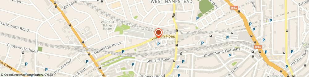 Route/map/directions to C.t. & S. Properties Limited, NW6 2HL London, 188 IVERSON ROAD
