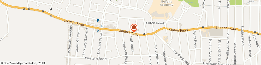 Route/map/directions to ZANA The Art of Traditional Barbering, SS9 3JE Leigh-On-Sea, 1147 London Rd