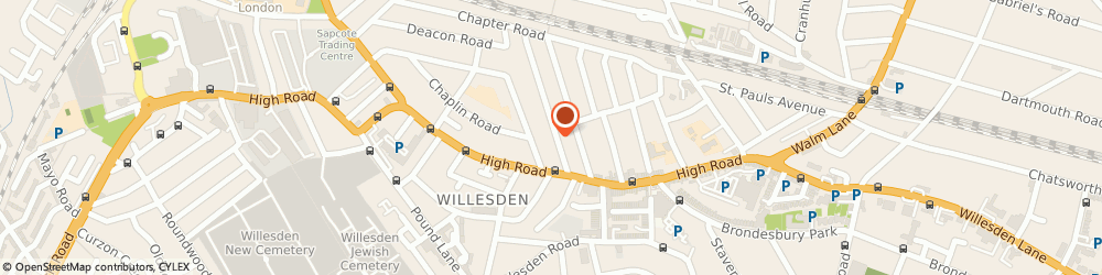 Route/map/directions to Supreme Care & Support Ltd, NW2 5ER London, 24a Sandringham Rd