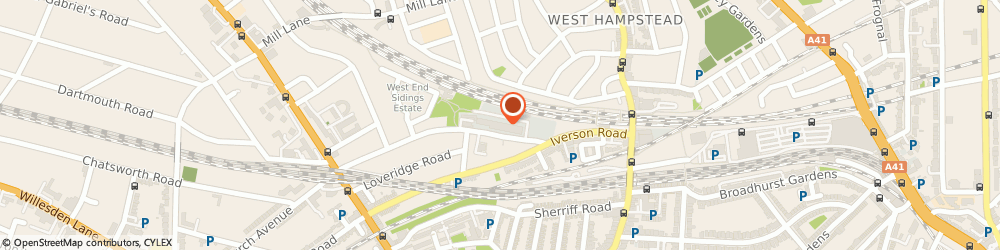 Route/map/directions to West Hampsted Autos Ltd, NW6 2EW London, 16 Liddell Road Industrial Estate
