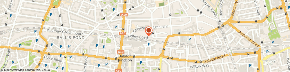 Route/map/directions to Riyka Limited, E8 2NP London, studio 2, 2nd floor, 51-63 ridley rd studios