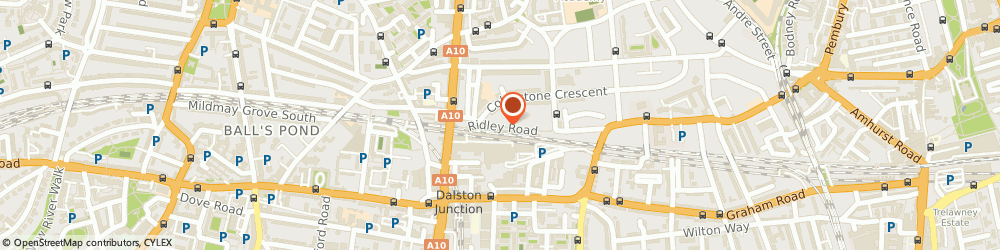Route/map/directions to Tim's Good Groove Music, E8 2NR London, 148 Ridley Road
