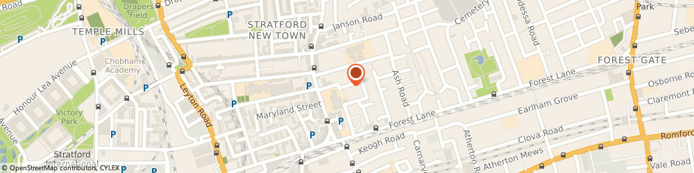 Route/map/directions to Whitechapel College, E15 1HF London, 67 Maryland Square