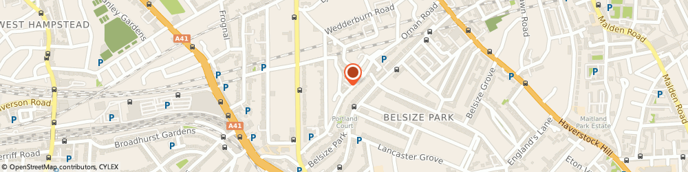 Route/map/directions to Penrose Care Ltd, NW3 5BG London, 9 Mccrone Mews Belsize Lane