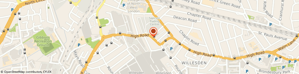 Route/map/directions to O'donoghue Plant Hire Limited, NW10 2JN London, 409 HIGH ROAD