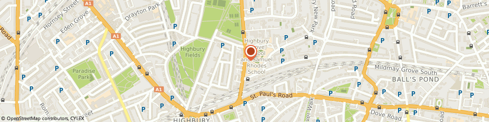 Route/map/directions to JLS EXCELLENCE LTD, N5 2ER London, 221 Screen Works 22 Highbury Grove