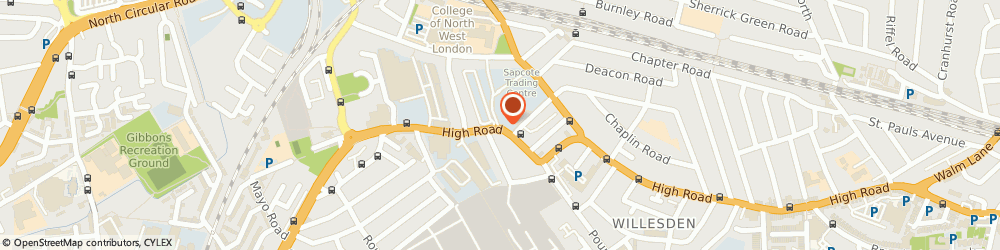 Route/map/directions to Brent Museum, NW10 2SF London, 95 HIGH ROAD