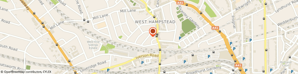 Route/map/directions to Image Technology Ltd, NW6 1PH London, 2 KINGDON ROAD