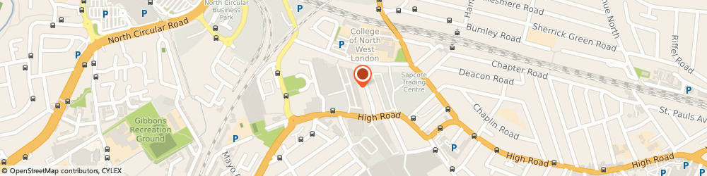 Route/map/directions to M Ronson Contracts Ltd, NW10 2XA London, High Rd, Unit 11, Cygnus Business Centre
