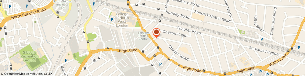 Route/map/directions to Style Printing, NW10 1DH London, 53 Dudden Hill Ln