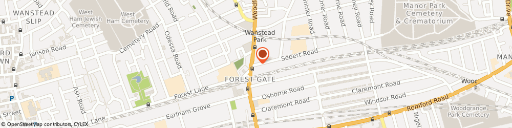 Route/map/directions to Lucky Flower, E7 0NQ London, 10 Sebert Road