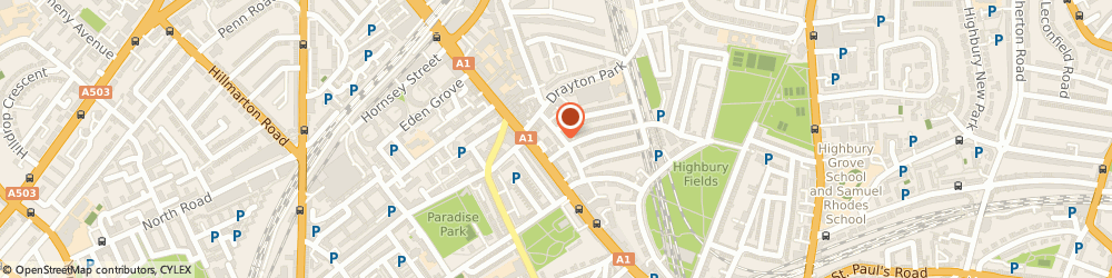 Route/map/directions to Esther Zahniser M.a., Bacp Reg., Ukrc, N5 1XL London, 25 Horsell Rd