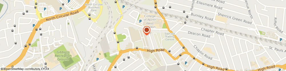 Route/map/directions to Manon Fashion, NW10 2XA London, Unit 23, Cygnus Business Centre, Dalmeyer Road.