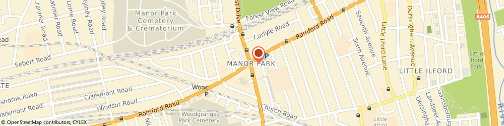 Route/map/directions to Nize Mobile World, E12 5AQ London, 618 Romford Rd