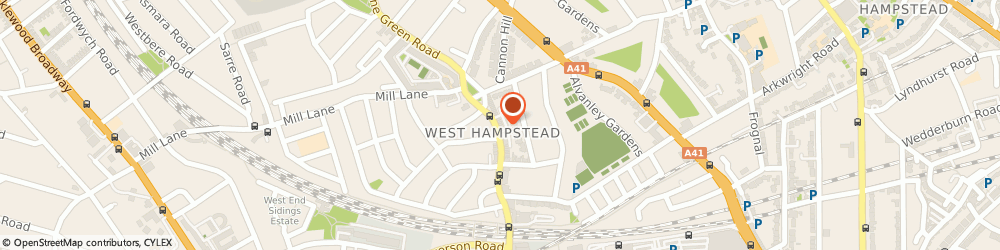 Route/map/directions to The Wet Fish Cafe & Brasserie, NW6 1LG London, 242 West End Lane