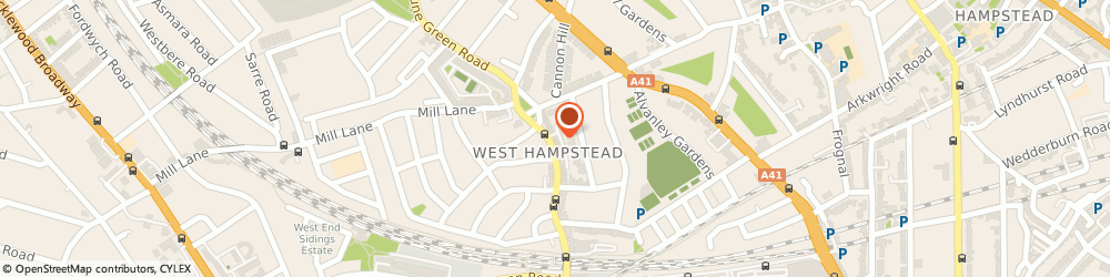 Route/map/directions to Moment Expresso Bar, NW6 1LG London, 248 West End Lane