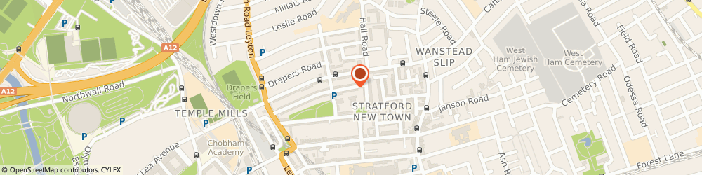 Route/map/directions to Charterhouse Wedding Cars, E15 1EA London, 137 COLEGRAVE ROAD