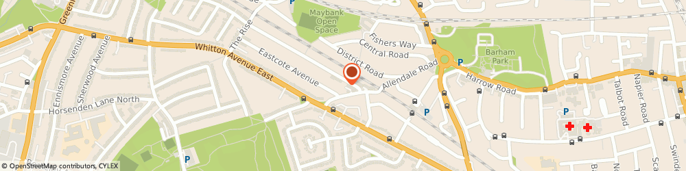 Route/map/directions to Kerala Ayurvedic Health Clinic, UB6 0NA Greenford, 1, Odeon Parade, Sudbury Heights Avenue