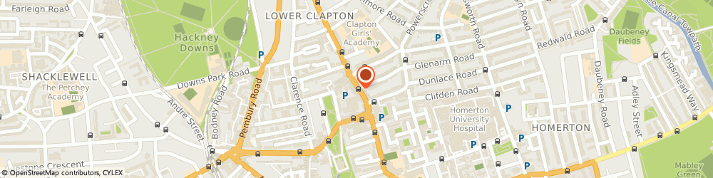 Route/map/directions to Clapton Craft, E5 0NP London, 97 Lower Clapton Road