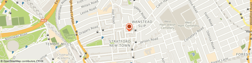 Route/map/directions to Effective Cleaning, E15 2AD London, 34 BURGESS ROAD