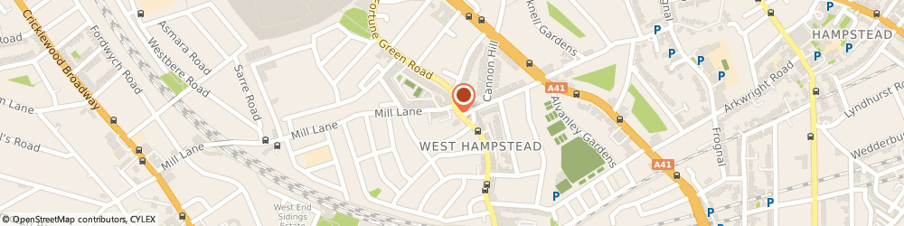 Route/map/directions to The Good Earth Express, NW6 1RS London, 335 West End Ln