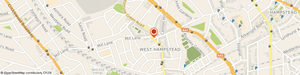 Route/map/directions to David's Deli, NW6 1RS London, 341 West End Ln