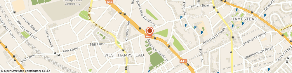 Route/map/directions to Rent, NW3 6HN London, 459 Finchley Road
