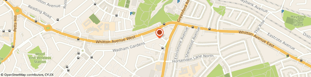 Route/map/directions to Greenford Green Clinic, UB6 0BP Greenford, 3 Wadham Gardens