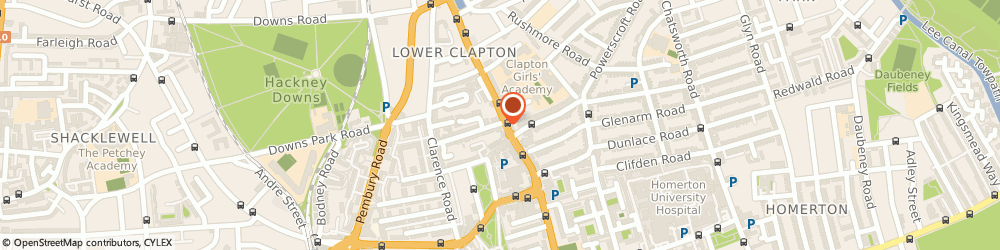 Route/map/directions to W.g Hart & Son (Clapton) Ltd, E5 0NP London, 129 Lower Clapton Road
