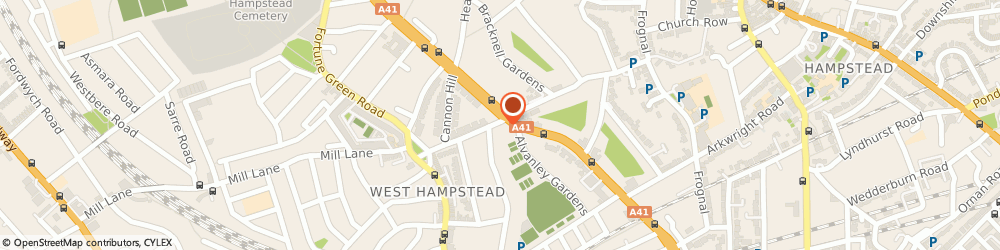 Route/map/directions to Nissen Estates, NW6 1LN London, 336 West End Lane
