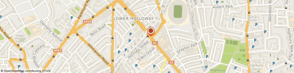 Route/map/directions to Pest Control Holloway, N7 6JA London, Holloway Road