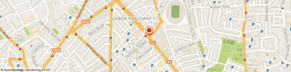 Route/map/directions to High Street Watches, N7 8HS London, 297 Holloway Road