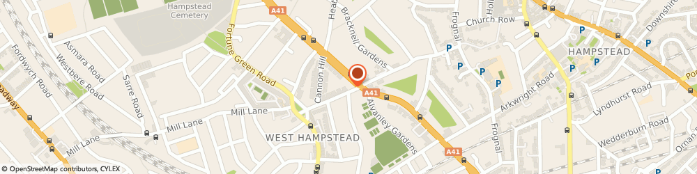 Route/map/directions to Firstplan Investments Ltd, NW6 1LP London, 367 Westend Lane
