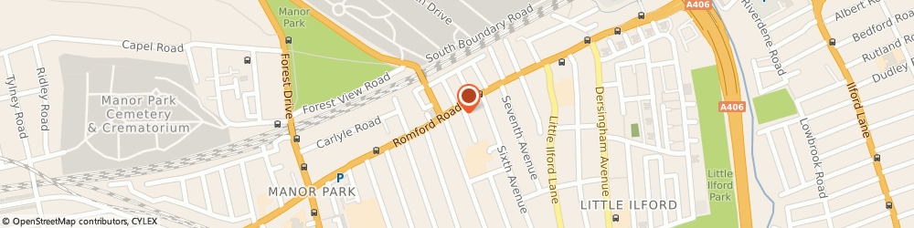 Route/map/directions to 5 Stars Appliances Limited, E12 6BU London, 754 ROMFORD ROAD