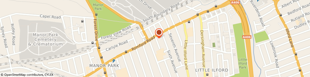 Route/map/directions to Fifth Avenue Communications, E12 6BU London, 754, ROMFORD ROAD