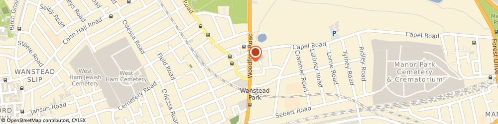 Route/map/directions to Total Music, E7 0HA London, 16-18 WOODFORD ROAD