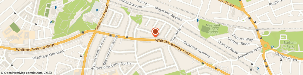Route/map/directions to Poland Medical Llp, UB6 0JP Greenford, 364A Whitton Avenue East