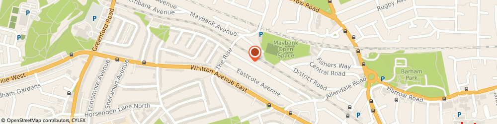 Route/map/directions to EXPLICIT SERVICES PVT LIMITED, UB6 0HR Greenford, Sudbury Hill