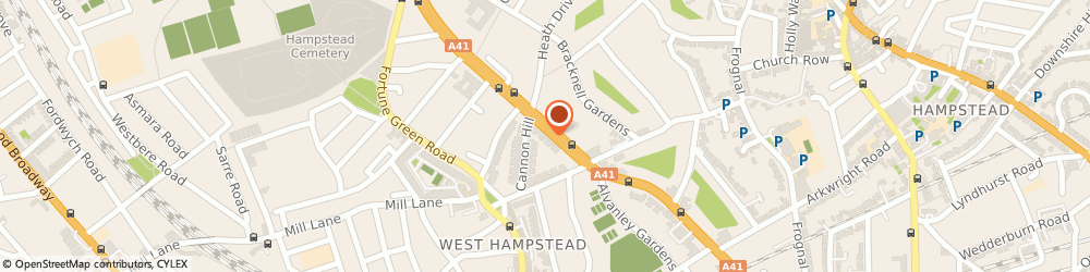 Route/map/directions to Mrs Amelia Giuseppina Jeans - Psychotherapist, NW3 7AX London, 499 Finchley Rd