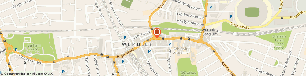 Route/map/directions to Reed Employment Services, HA9 7AF Wembley, 451, HIGH ROAD