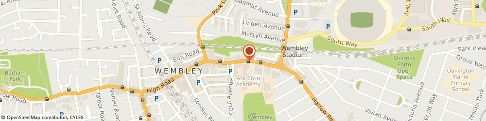 Route/map/directions to Amara Stocked At Jack Michael, HA9 7BS Wembley, 540 HIGH ROAD