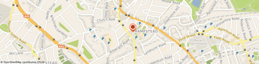 Route/map/directions to Age UK Camden - Henderson Court Resource Centre, NW3 6NS London, Henderson Court